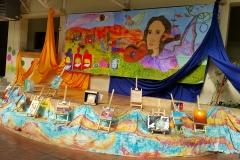 Mural_a_Violeta_Parra_estudiantes_Liceo_Luis_A_Barrera